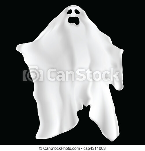 Spooky ghost - csp4311003
