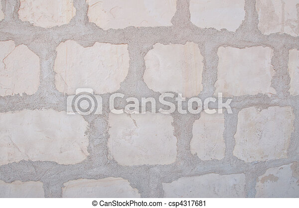 special limestone background of mission santa barbara - csp4317681