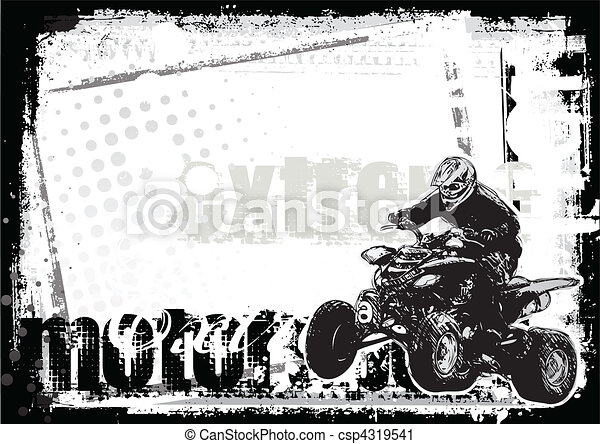 motor sport background - csp4319541