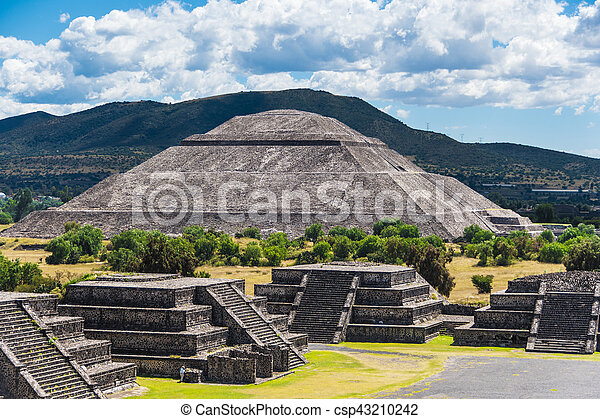 Pyramid of the Sun - csp43210242