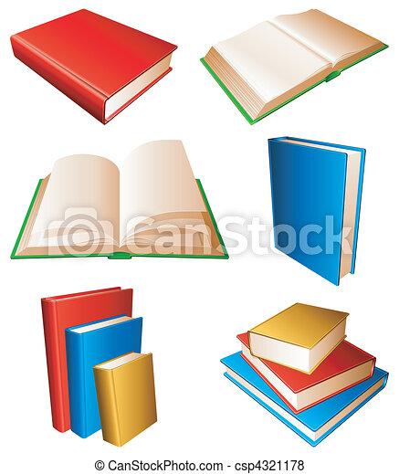 Books. - csp4321178