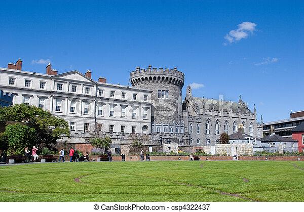 Dublin Castle - csp4322437