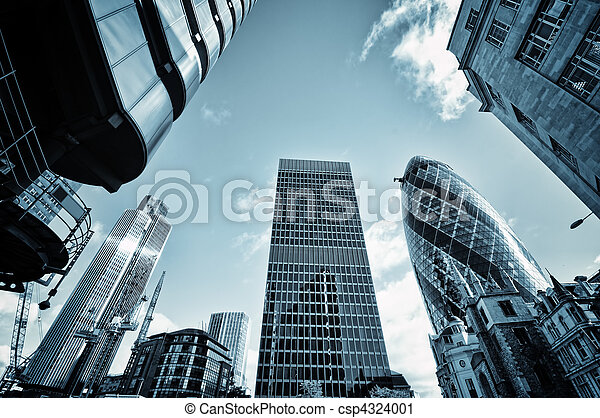 cidade, Londres - csp4324001