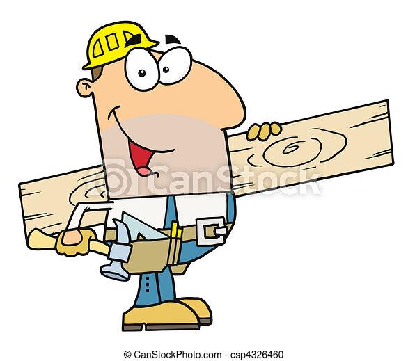 Worker Man  - csp4326460