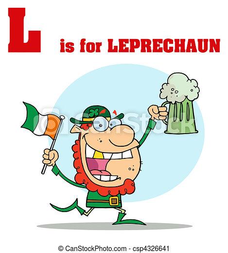 Leprechaun - csp4326641