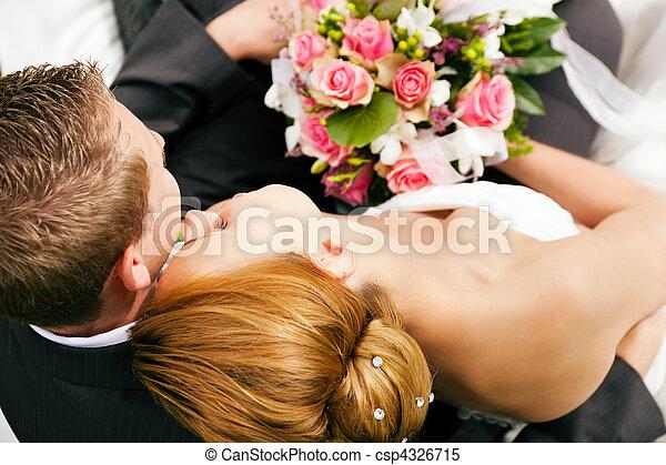 Ömhet,  -, bröllop - csp4326715