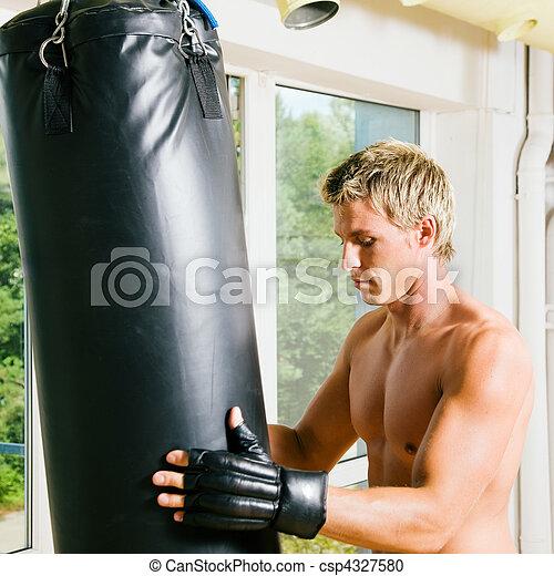 Martial Arts Training - csp4327580