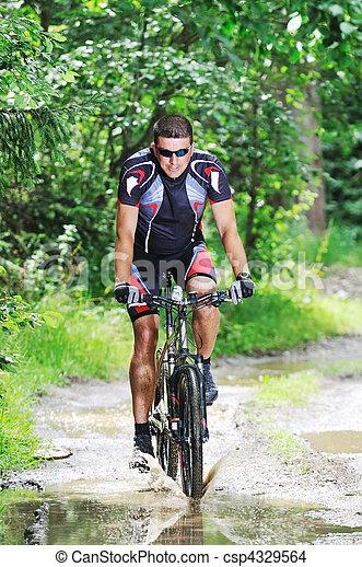 wet mount bike ride