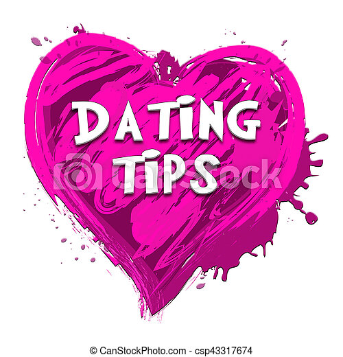 Dating Tips Representing Relationship Advice 3d Illustration - csp43317674