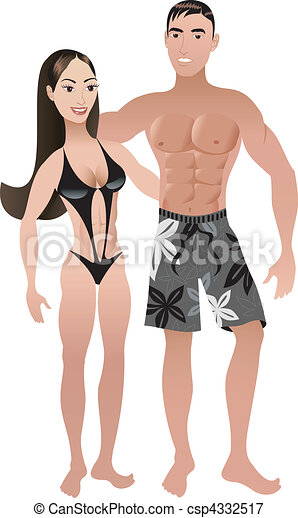 Fit Couple 2 - csp4332517