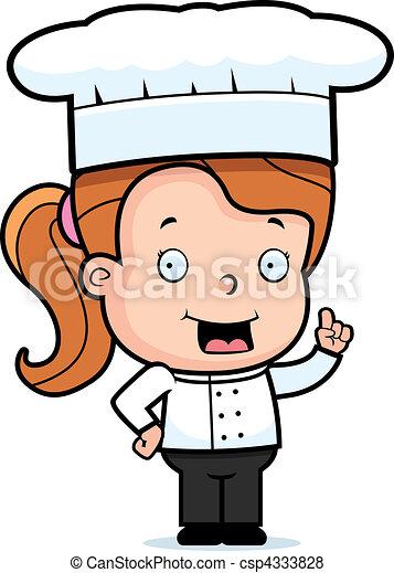 Child Chef - csp4333828