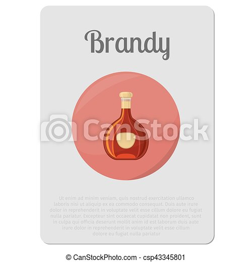 Vector Clip Art de pegatina aguardiente alcohol botella