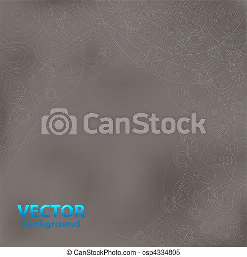 Grey Background Design - csp4334805