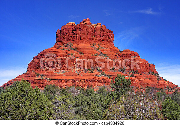 Bell Rock in Sedona Arizona - csp4334920