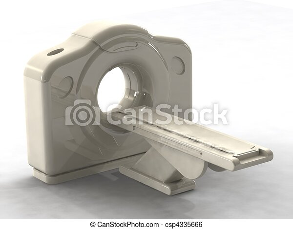 3d render ct or cat scanner - csp4335666