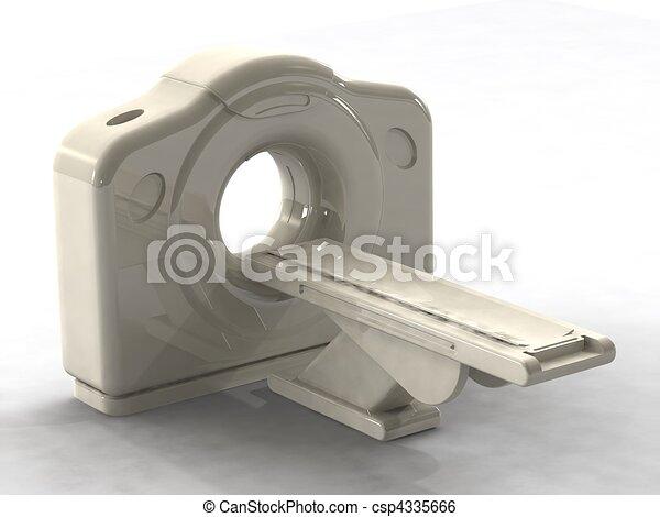 3d render ct or cat scanner - csp4335666