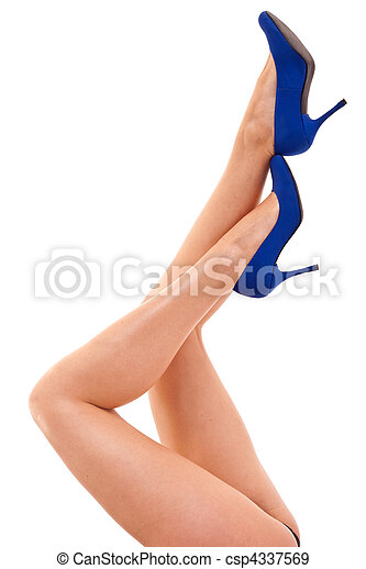 Legs with high heels - csp4337569