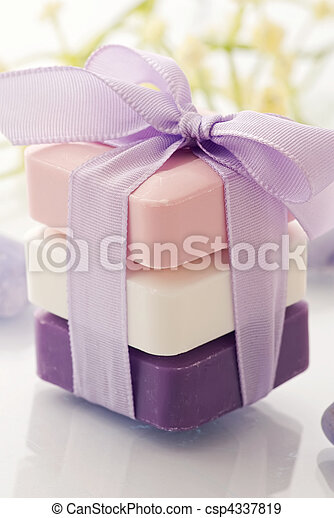 Scented Soap - csp4337819