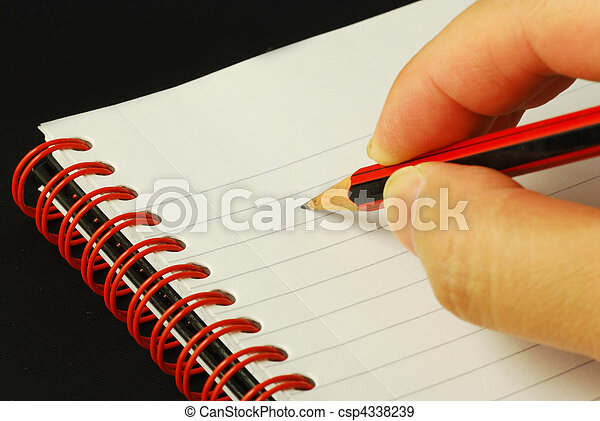 Taking notes concepts of education  - csp4338239