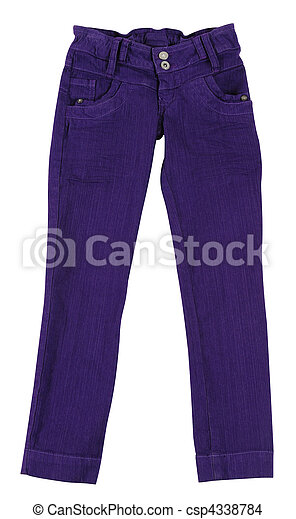 Pants. Isolated - csp4338784