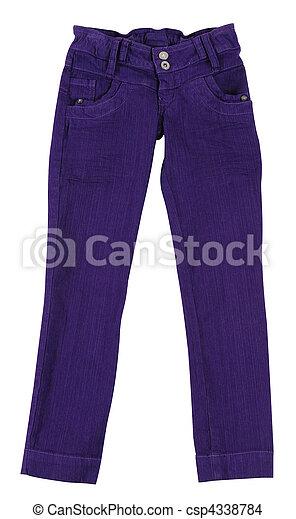 Pants. Isolated - csp4338784