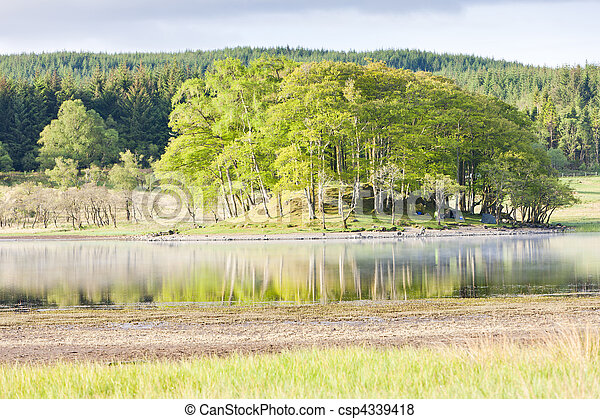 Loch Awe, Highlands, Scotland - csp4339418