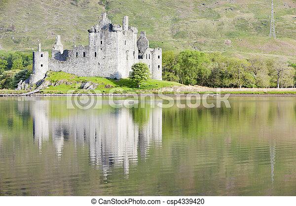 Kilchurn Castle, Loch Awe, Scotland - csp4339420