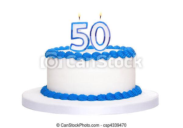 Birthday cake - csp4339470