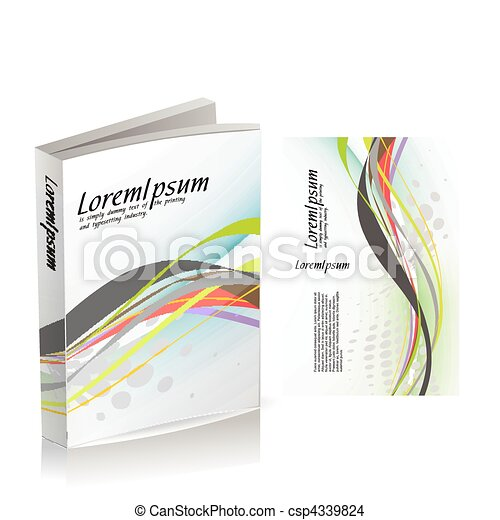 book cover design - csp4339824