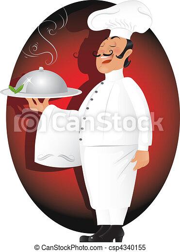 Professional chef - csp4340155