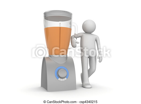 Blender and character - Home stuff collection - csp4340215