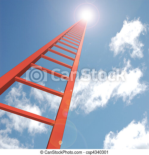 Ladder to the Sky - csp4340301