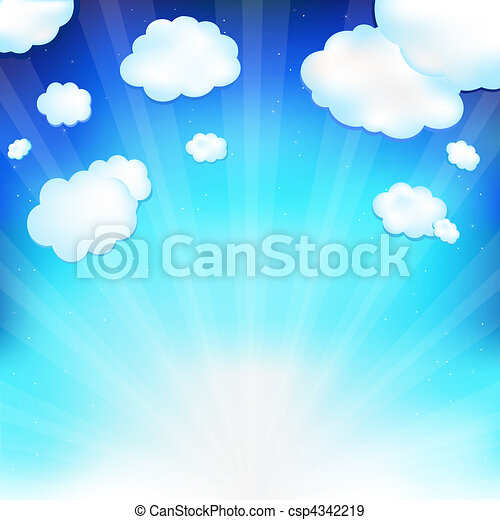 Fantastic Clouds - csp4342219