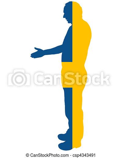 Swedish handshake - csp4343491