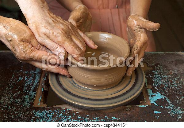 photo potier enseigne cuisine pots image images photo libre de droits photos sous. Black Bedroom Furniture Sets. Home Design Ideas