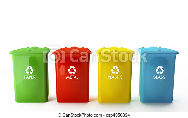 Containers for recycling - csp4350334