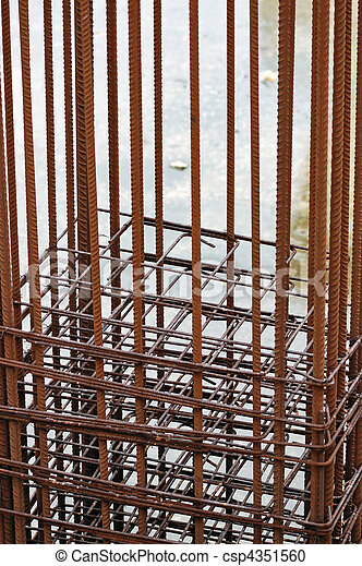 reinforcement bars - csp4351560