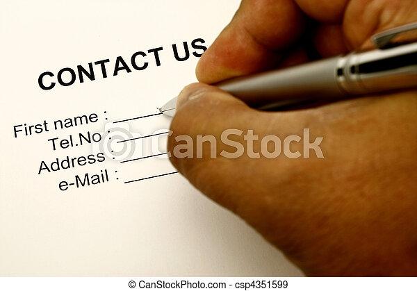 contact us - csp4351599