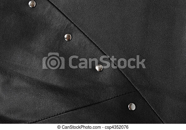 background. structure of the skin and rivets - csp4352076
