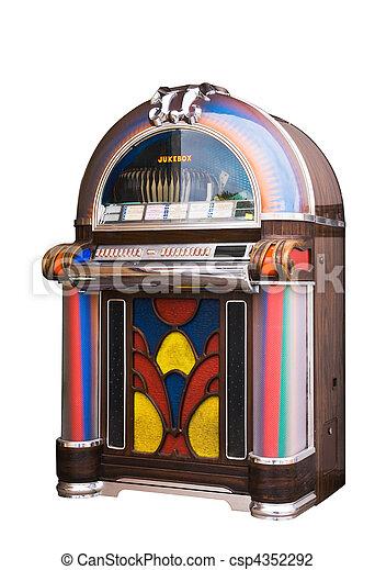 Jukebox - csp4352292