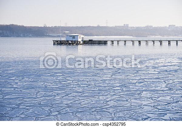 icy winter - csp4352795