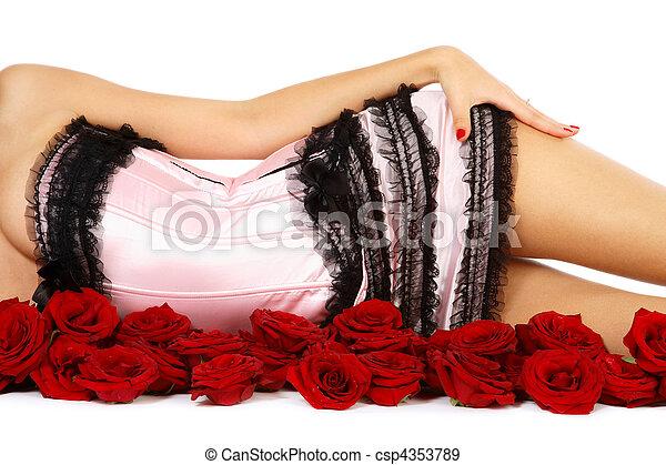 Sexy torso - csp4353789