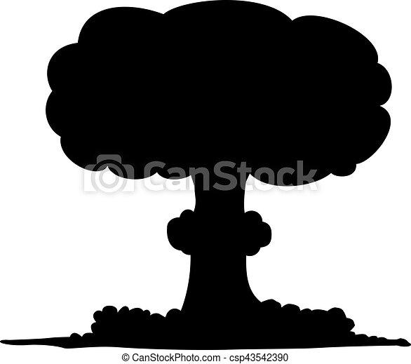 Nuclear bomb - csp43542390