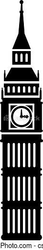 Big ben icon - csp43544594