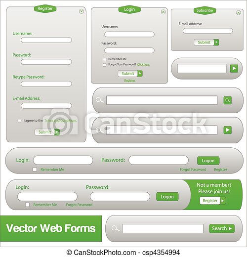 Web Forms Template - csp4354994