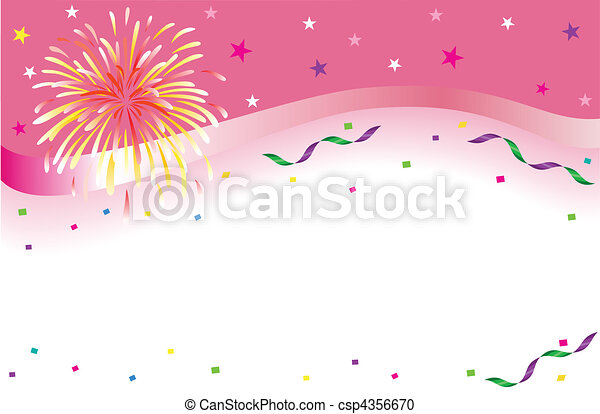 Celebration and party banner - csp4356670