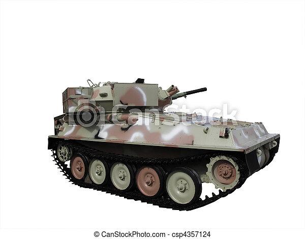 Military tank - csp4357124