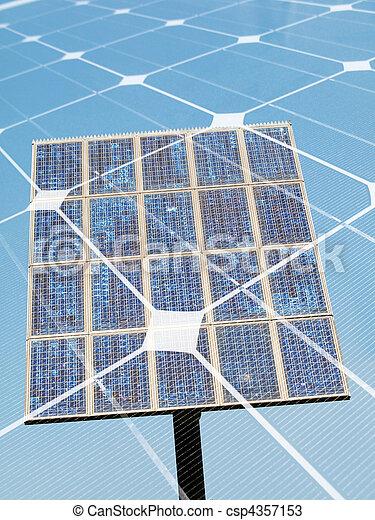 Solar energy concept - csp4357153