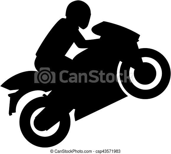vector of motorcyclist motorbike stunt csp43571983 Queen Crown Clip Art Keep Calm Logo