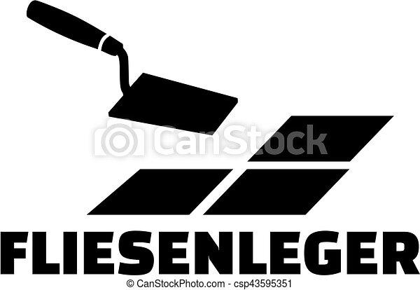Dachdecker bilder clipart  Clipart Vektor von deutsch, arbeit, dachdecker, kelle, titel ...